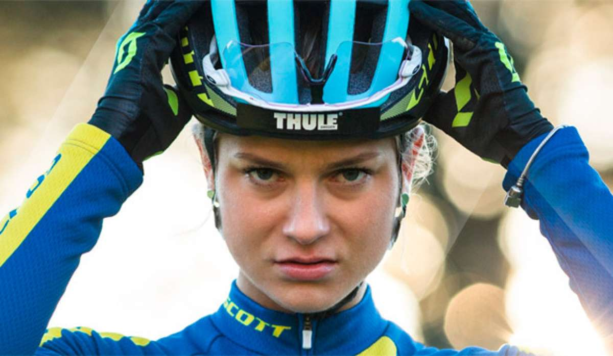 En TodoMountainBike: Jenny Rissveds y el casco Scott Centric Plus, una combinación ganadora