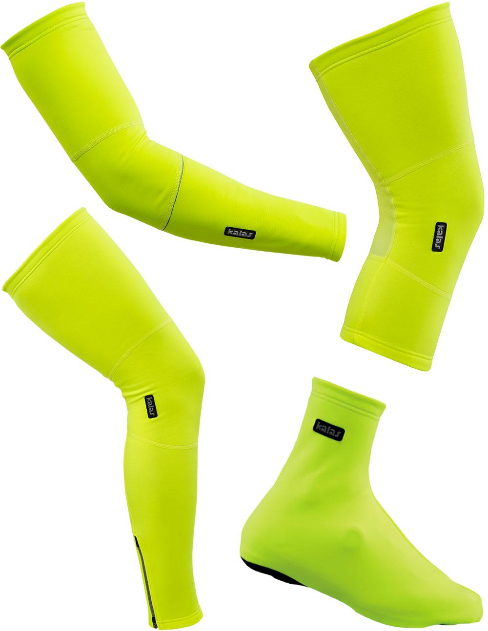 En TodoMountainBike: Colores de alta visibilidad para la colección RainMem Fluoro de Kalas Sportswear