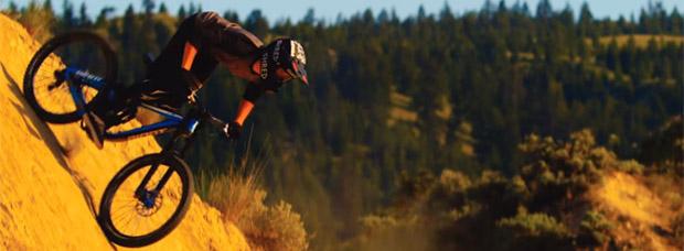 Rodando en Kamloops (Columbia Británica de Canadá) con Reece Wallace y su Giant Glory Advanced