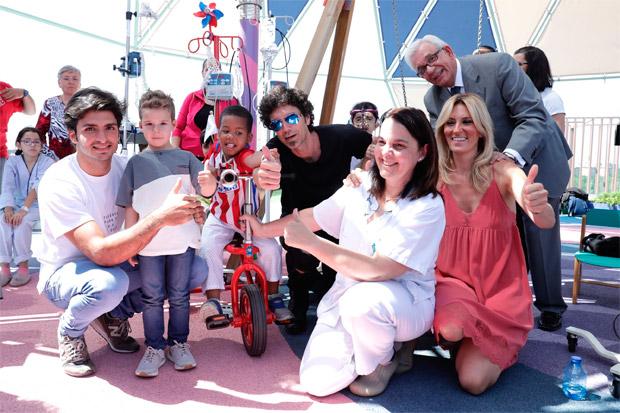 En TodoMountainBike: Kiciclo, un triciclo portasueros para niños hospitalizados que necesitan recibir tratamiento intravenoso