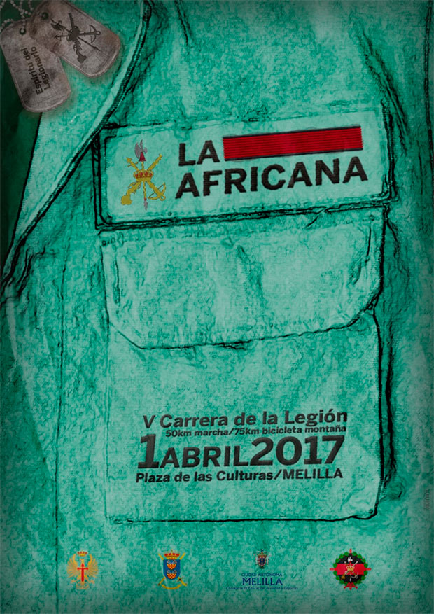 En TodoMountainBike: Todo a punto para La Africana 2017, V Carrera de la Legión