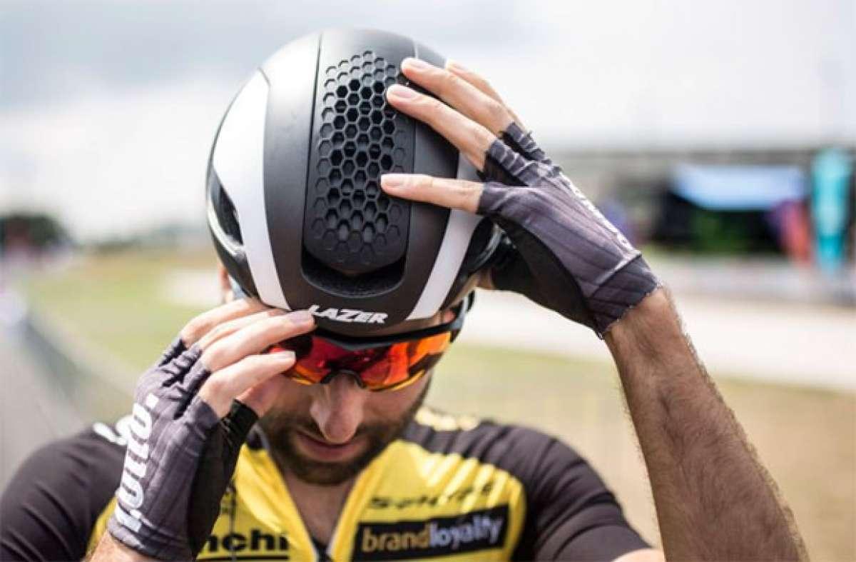 Lazer Bullet, un casco aerodinámico con ventilación a gusto del usuario