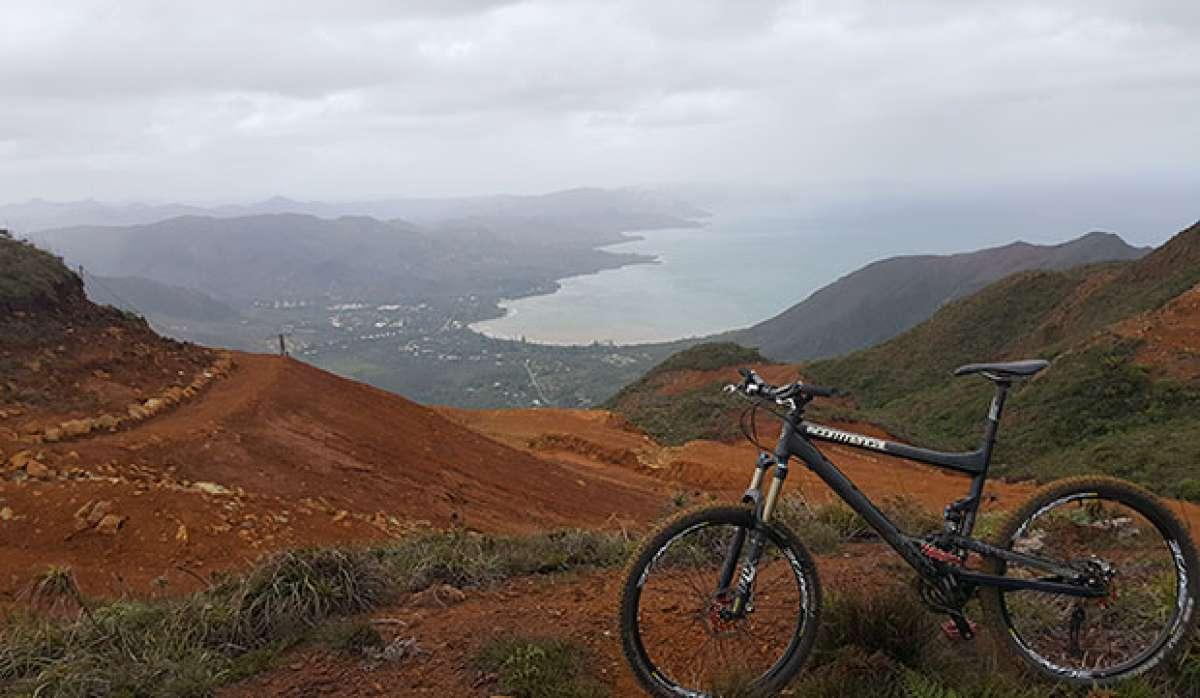 """La foto del día en TodoMountainBike: """"Nueva Caledonia"""""""