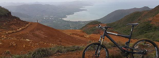 La foto del día en TodoMountainBike: 'Nueva Caledonia'