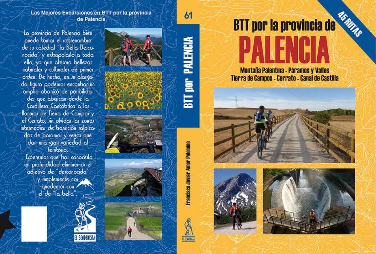 """Descubriendo la provincia española de Palencia con el libro """"BTT por la provincia de Palencia"""""""