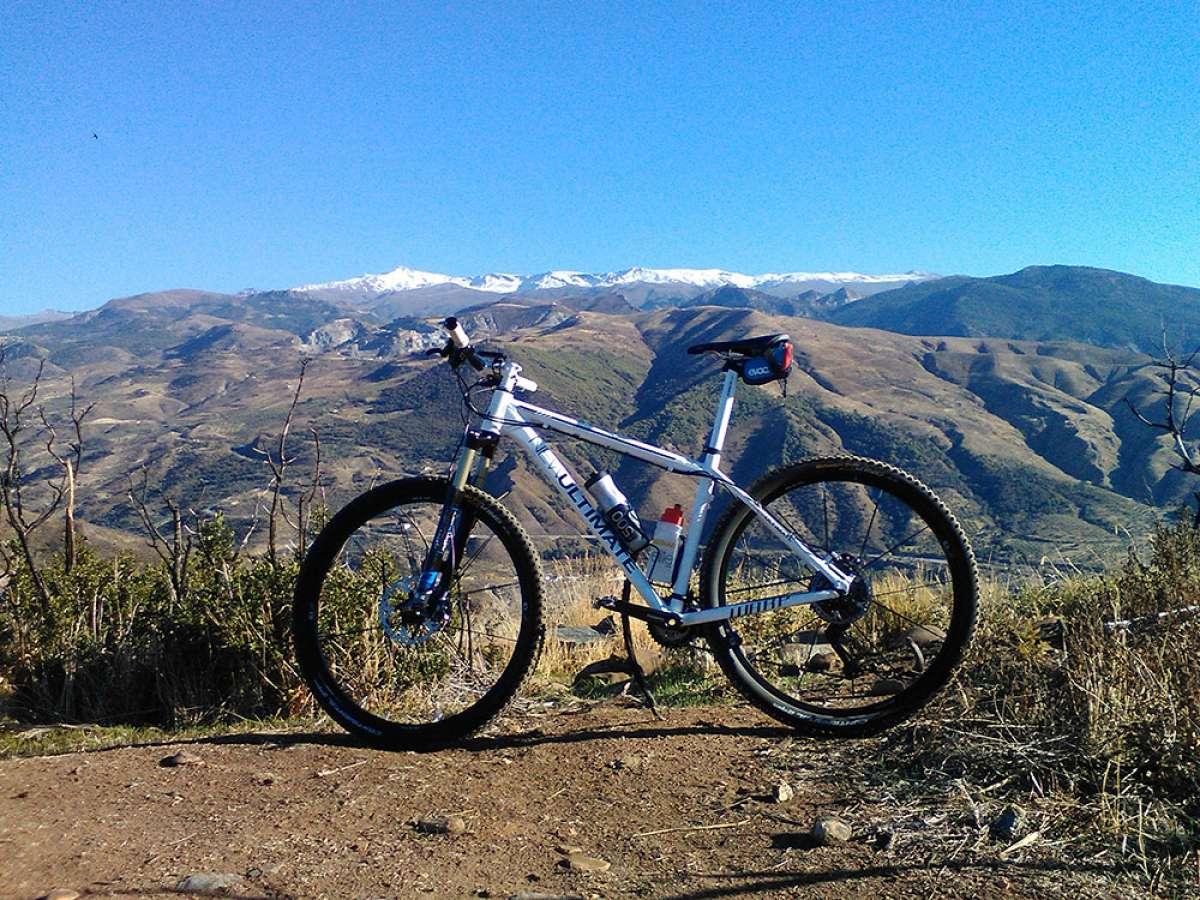 """La foto del día en TodoMountainBike: """"Blanca como la nieve de Sierra Nevada"""""""