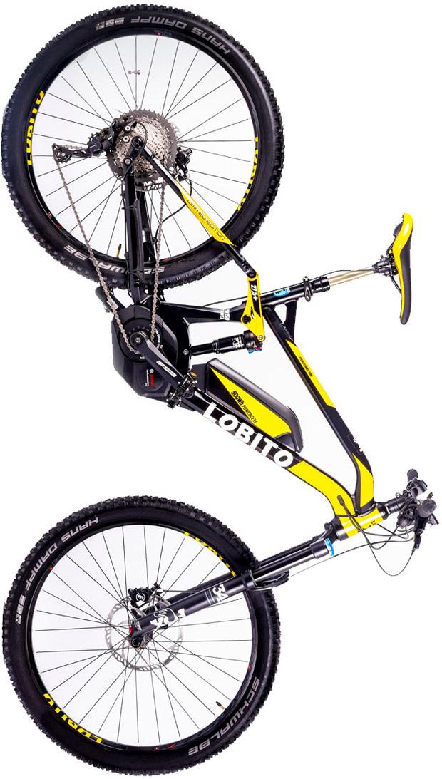 En TodoMountainBike: LOBITO Limited Edition, una doble eléctrica de montaña capaz de alcanzar los 60 km/h
