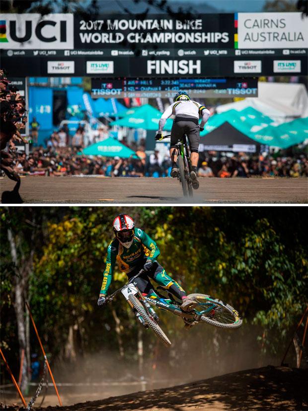 En TodoMountainBike: Loïc Bruni y Miranda Miller, campeones del mundo de DHI en Cairns