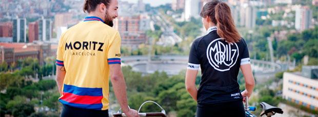 Un guiño al pasado con el maillot de estilo 'retro' de Cervezas Moritz