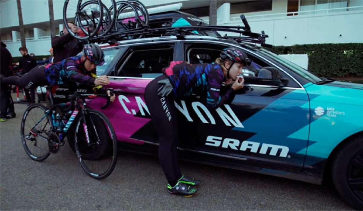 En TodoMountainBike: El 'Mannequin Challenge' del Canyon//SRAM Racing Team