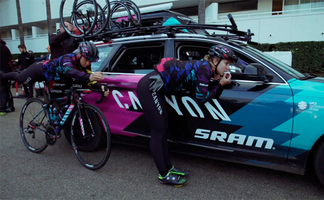 El 'Mannequin Challenge' del Canyon//SRAM Racing Team