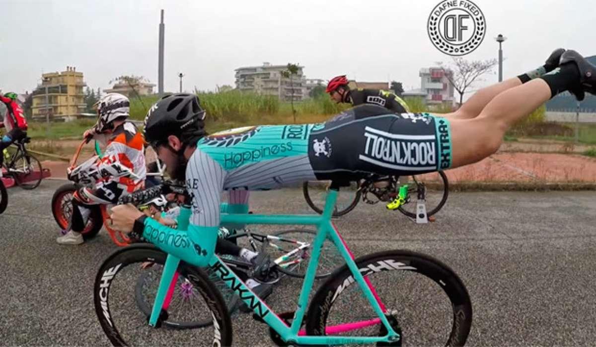 En TodoMountainBike: Espectacular vídeo promocional de Dafne Fixed: un 'Mannequin Challenge' sobre bicicletas