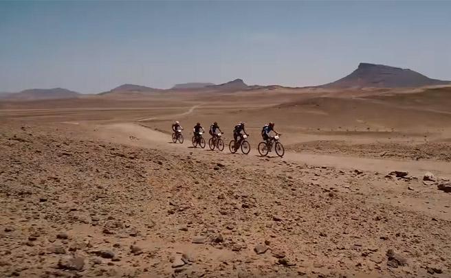 Los mejores momentos de la cuarta etapa de la GAES Titan Desert by Garmin 2017