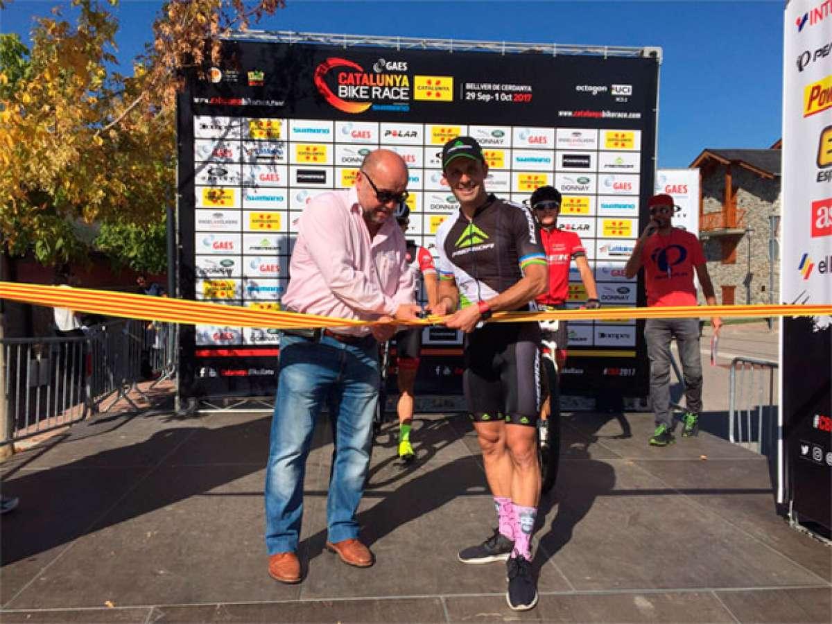En TodoMountainBike: Los mejores momentos de la primera etapa de la Catalunya Bike Race 2017