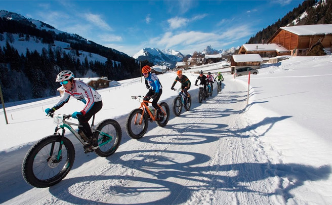 Los mejores momentos del Snow Bike Festival Gstaad 2017