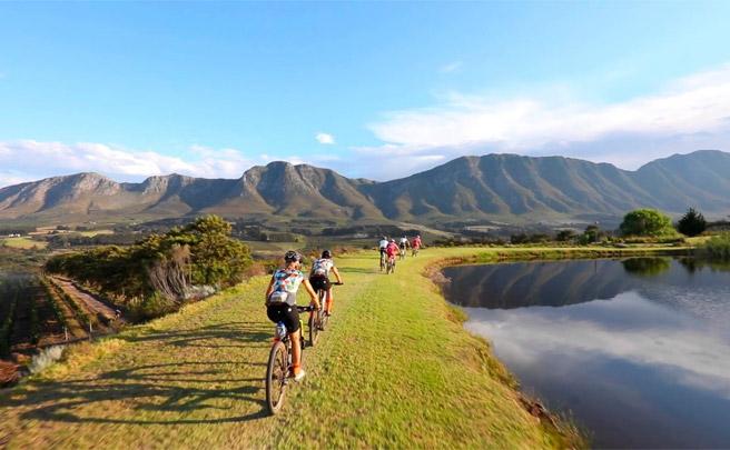 Los mejores paisajes de la Absa Cape Epic 2017, etapa a etapa