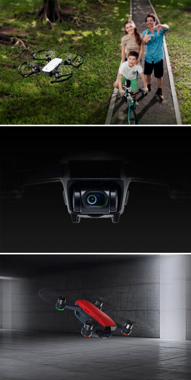 En TodoMountainBike: DJI Spark, un mini dron perfecto para capturar actividades deportivas