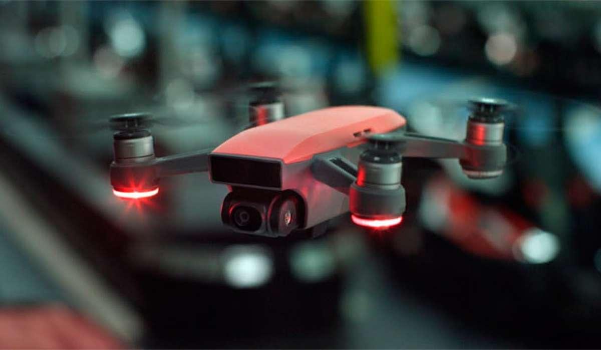 DJI Spark, un mini dron perfecto para capturar actividades deportivas