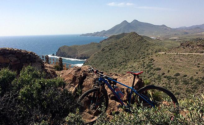 La foto del día en TodoMountainBike: 'Desde el Cabo de Gata'