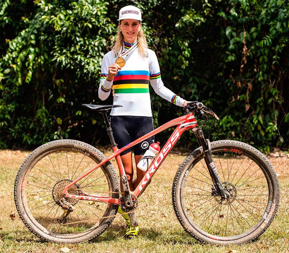 En TodoMountainBike: Mitas Scylla Tubeless Supra Textra, el neumático de la campeona del mundo Jolanda Neff