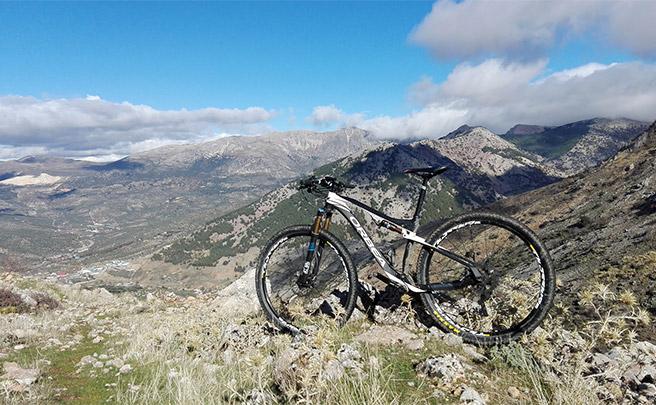 La foto del día en TodoMountainBike: 'En el monte Cornicabra'