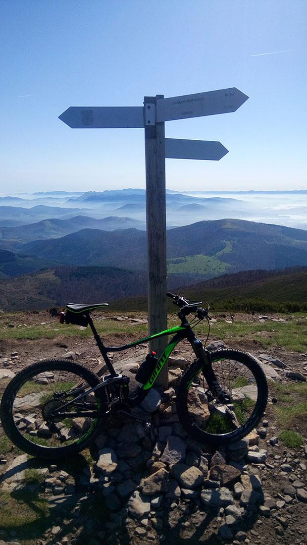 """La foto del día en TodoMountainBike: """"Monte Gorbea"""""""