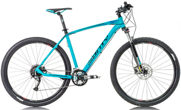 En TodoMountainBike: Monty KY19, KY29, KY39 y KY59, la nueva gama de iniciación al Mountain Bike de la firma española