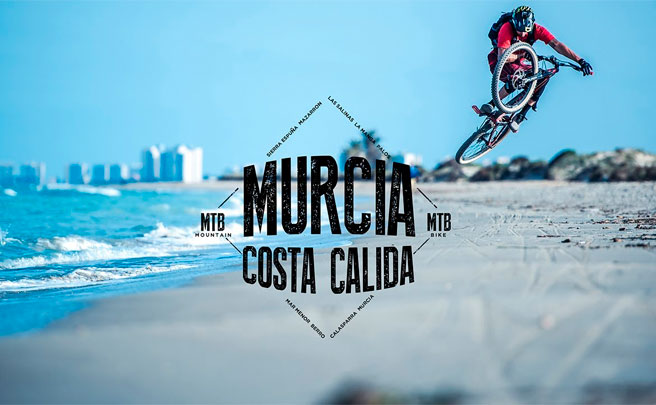 Mountain Bike en la Costa Cálida (Murcia) con David Cachon