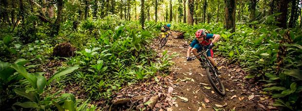 Mountain Bike en Costa Rica con Holger Meyer y compañía