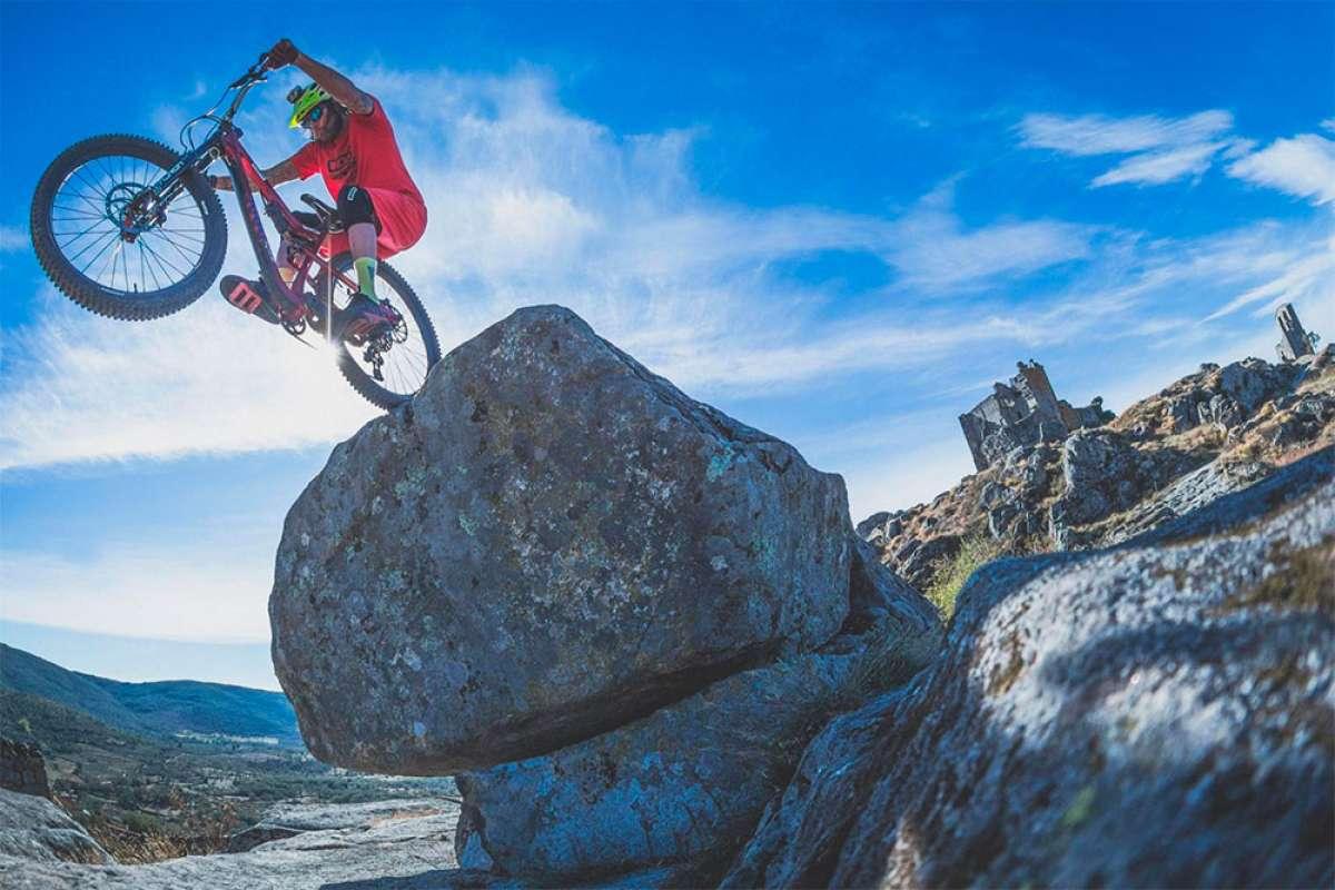 Mountain Bike en la provincia española de Cáceres con David Cachón