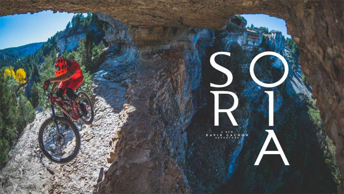 Descubriendo Soria sobre una Mountain Bike con David Cachon