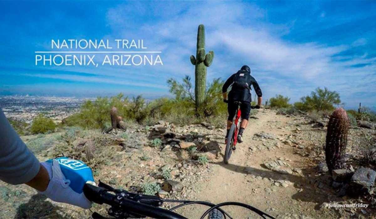Rodando por el South Mountain Park de Phoenix (Arizona, EUA) con Nate Hills y compañía