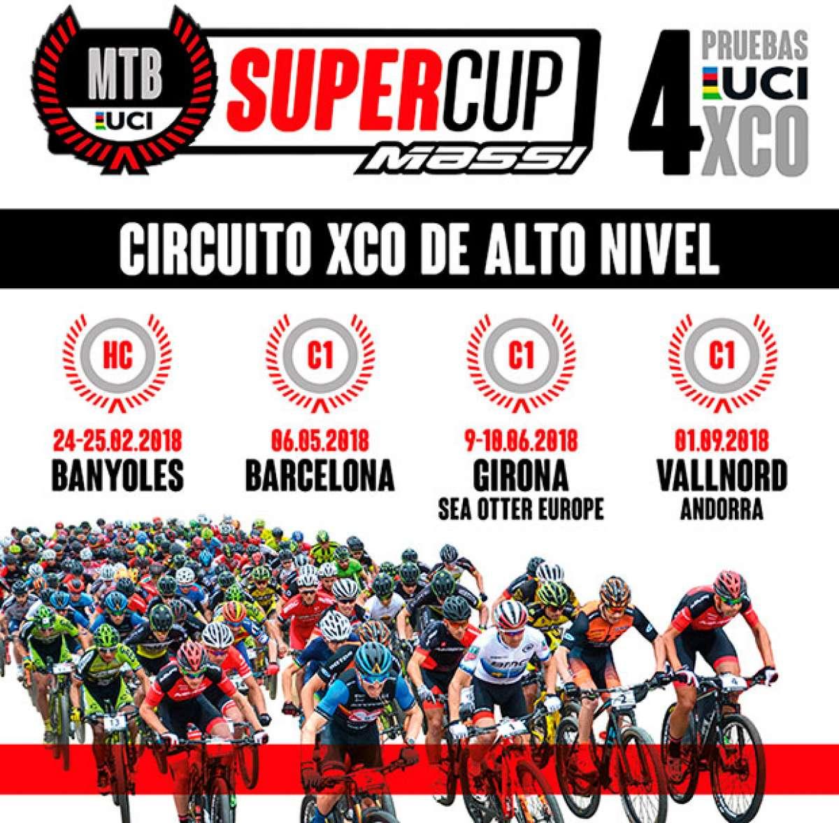 Estreno en el calendario nacional del MTB SuperCup Massi con cuatro pruebas de categorías UCI HC y C1
