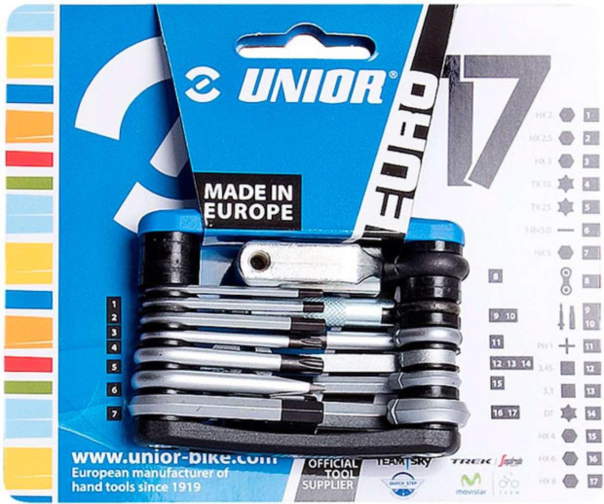 """Mecánica """"premium"""" para todos con las multiherramientas Euro17, Euro13, Euro7 y Euro6 de Unior"""