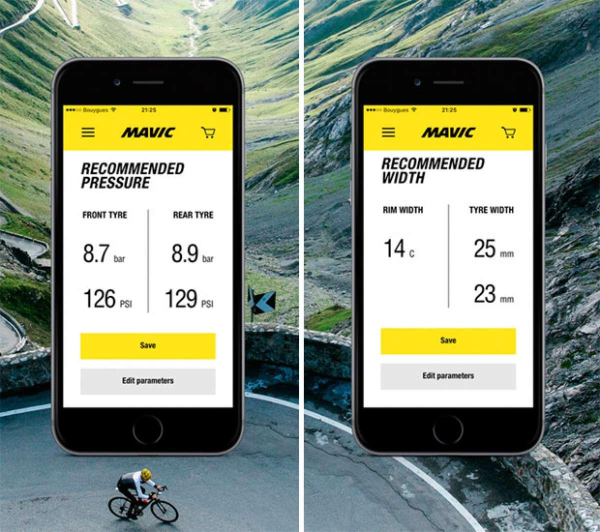 En TodoMountainBike: MyMavic, una aplicación móvil con toda la información de las ruedas de Mavic al alcance de la mano