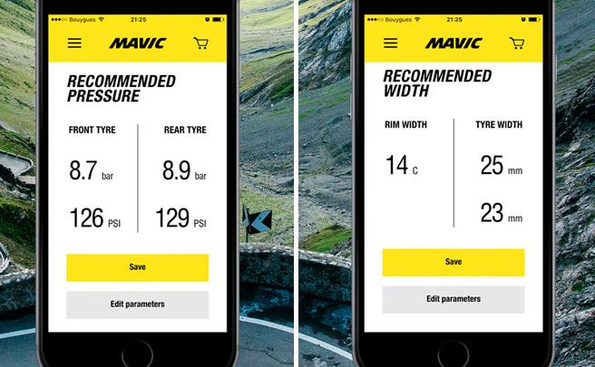 MyMavic, una aplicación móvil con toda la información de las ruedas de Mavic al alcance de la mano