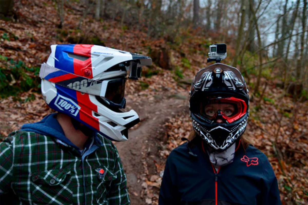 En TodoMountainBike: Ninja Mount, un soporte de cámaras de acción específico para cascos integrales