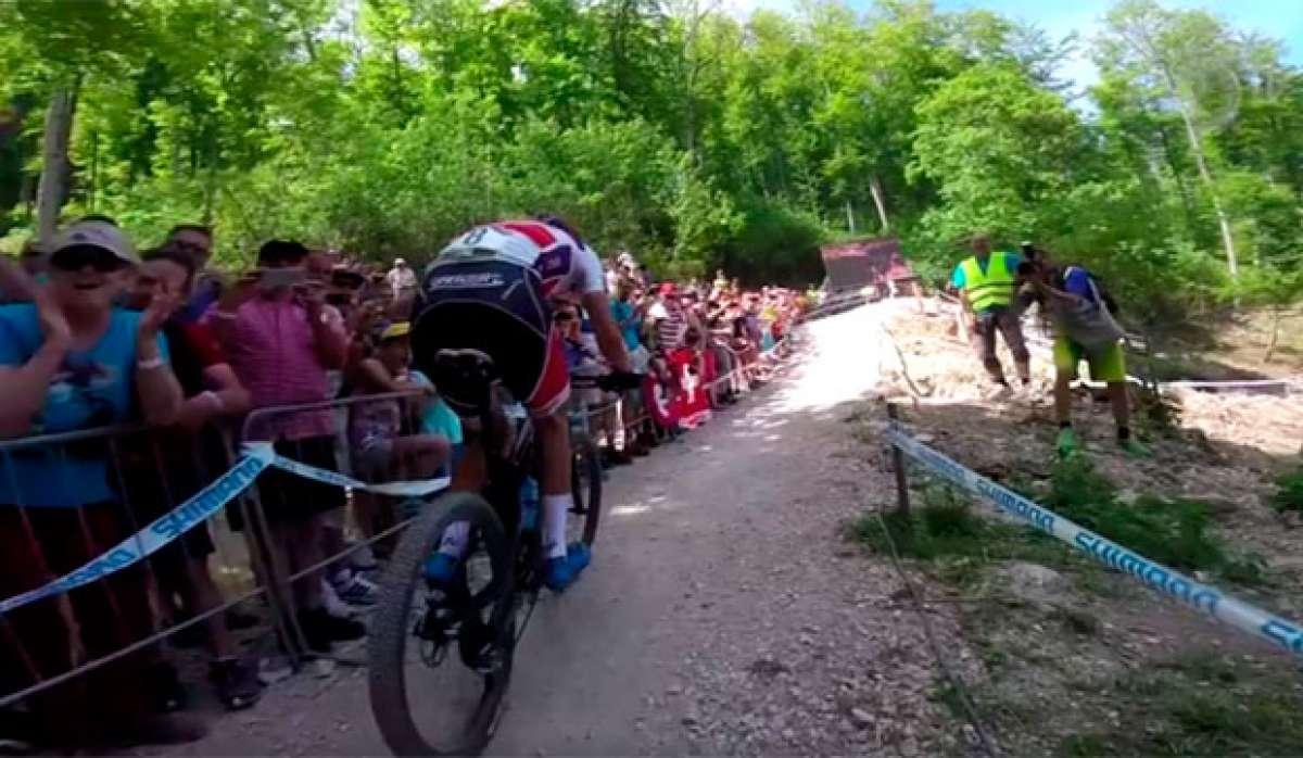 En TodoMountainBike: La carrera de la Copa del Mundo XCO 2017 de Albstadt, desde la bicicleta de Nino Schurter