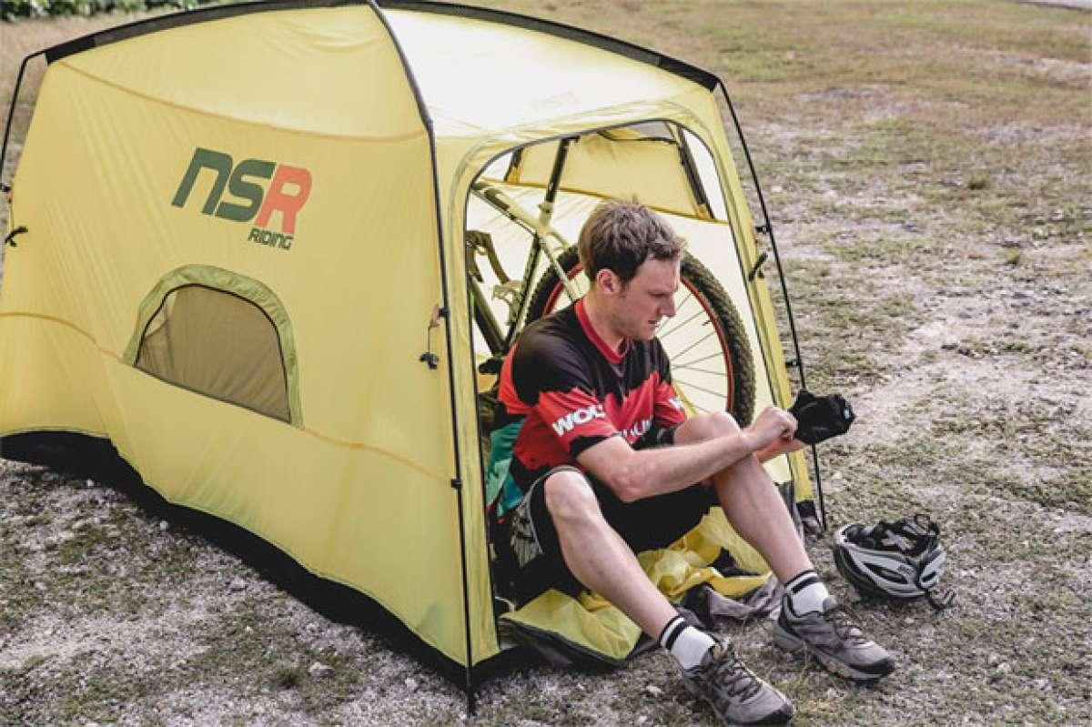 NSR Riding, la tienda de campaña ideal para perderse en el monte con la bicicleta