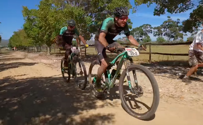 La primera etapa de la Absa Cape Epic 2017 con Ibon Zugasti y Tomi Misser (Orbea Factory Team)