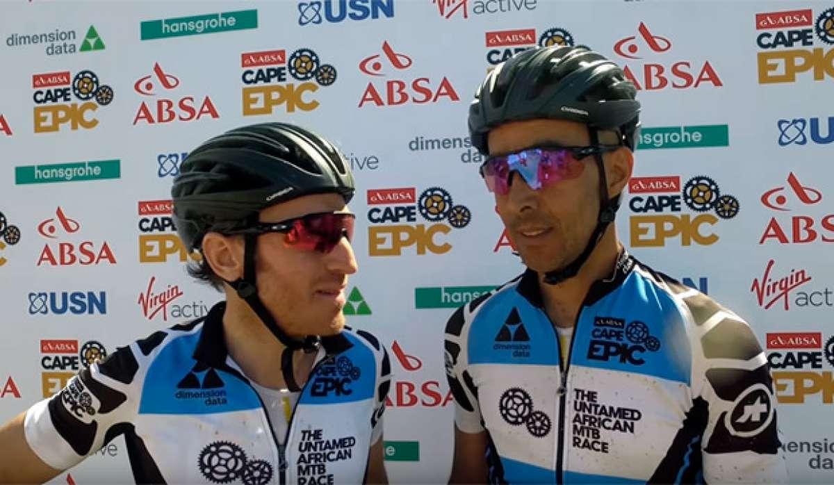 La sexta etapa de la Absa Cape Epic 2017 con Ibon Zugasti y Tomi Misser (Orbea Factory Team)
