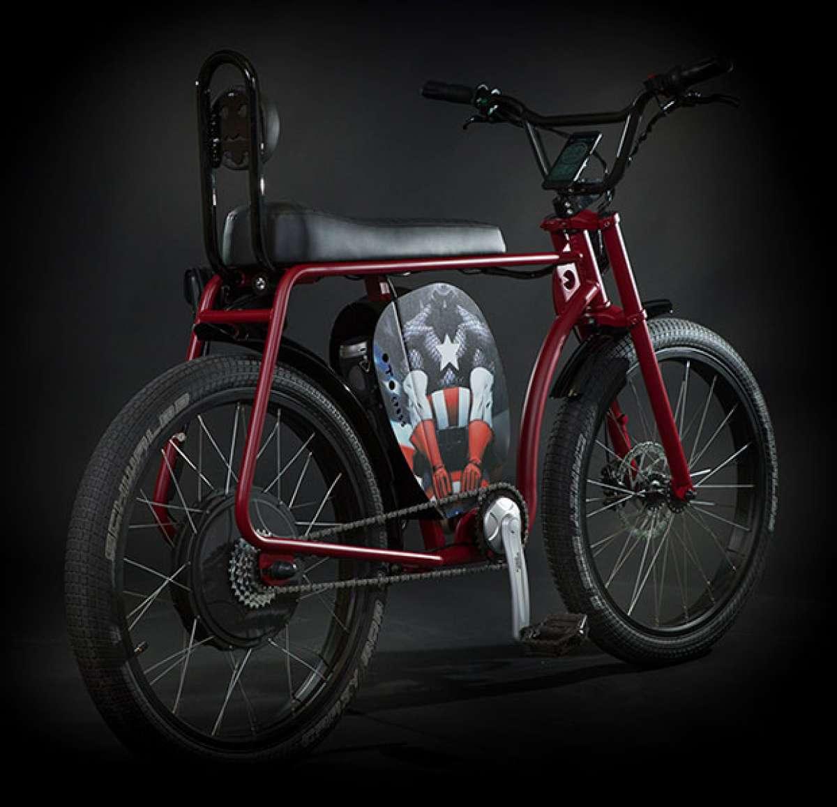 Retorno a la infancia con la Oto Cycles CrosS, una bicicleta eléctrica inspirada en la estética de los 80