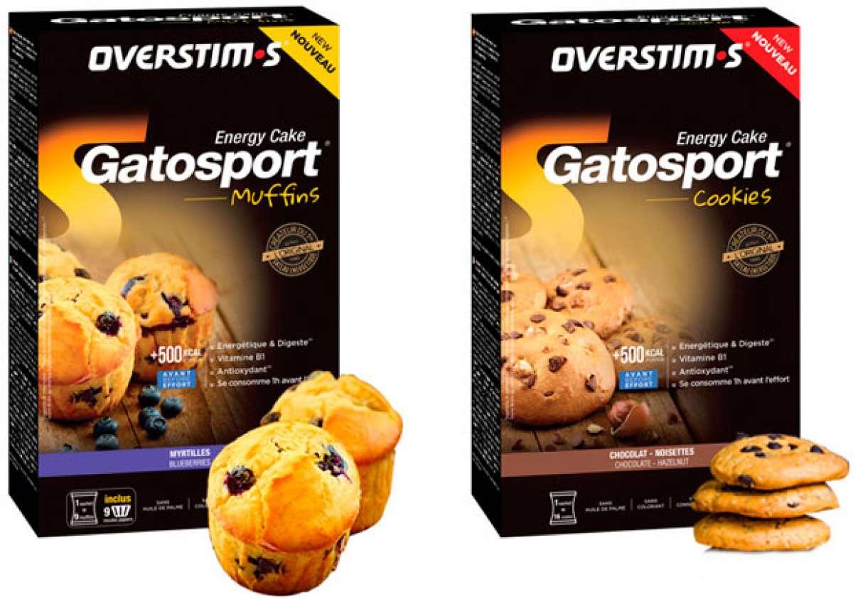 Galletas y magdalenas energéticas con los preparados para cookies y muffins de OVERSTIM.s