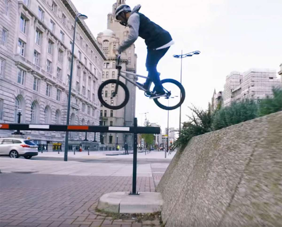 En TodoMountainBike: BMX urbano por las calles de Liverpool con Paul Ryan y su Mongoose Fraction
