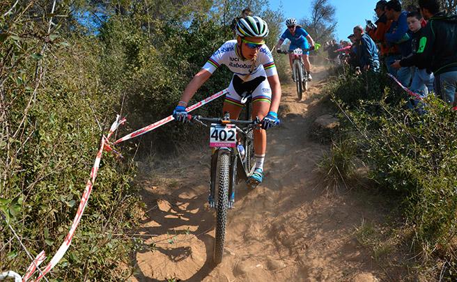 Pauline Ferrand-Prévot, confirmada para la Copa Catalana BTT Biking Point 2017 de Banyoles