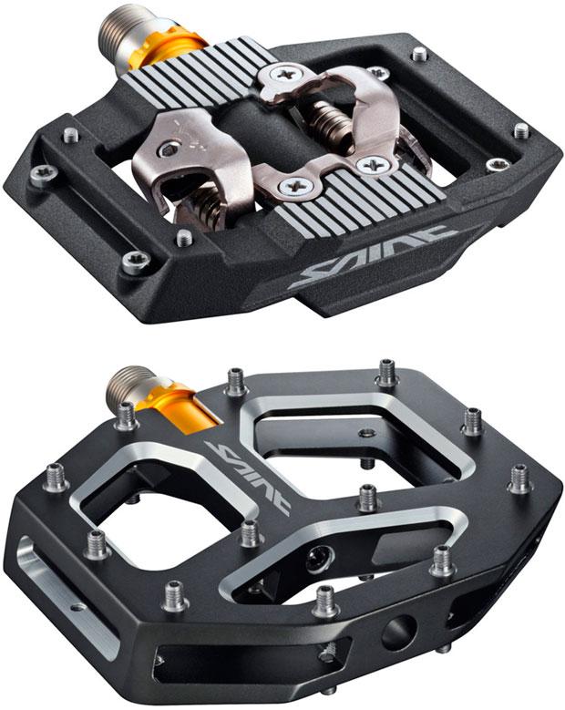 Para usuarios de pedales de plataforma: modelos Shimano Saint, XT y GR500 de 2018 en camino