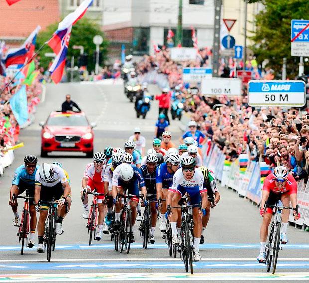 En TodoMountainBike: Peter Sagan, triple campeón del mundo en el Mundial de Ruta 2017 de Bergen