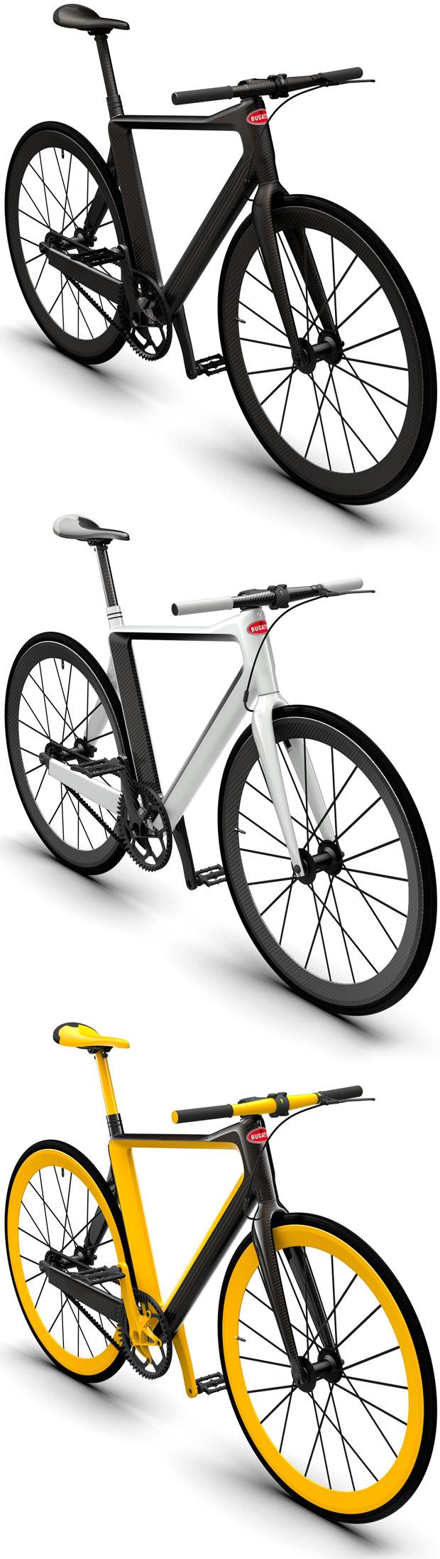 En TodoMountainBike: 39.000 dólares para la última creación de Bugatti, y sin motor: una bicicleta urbana de menos de 5 kilos