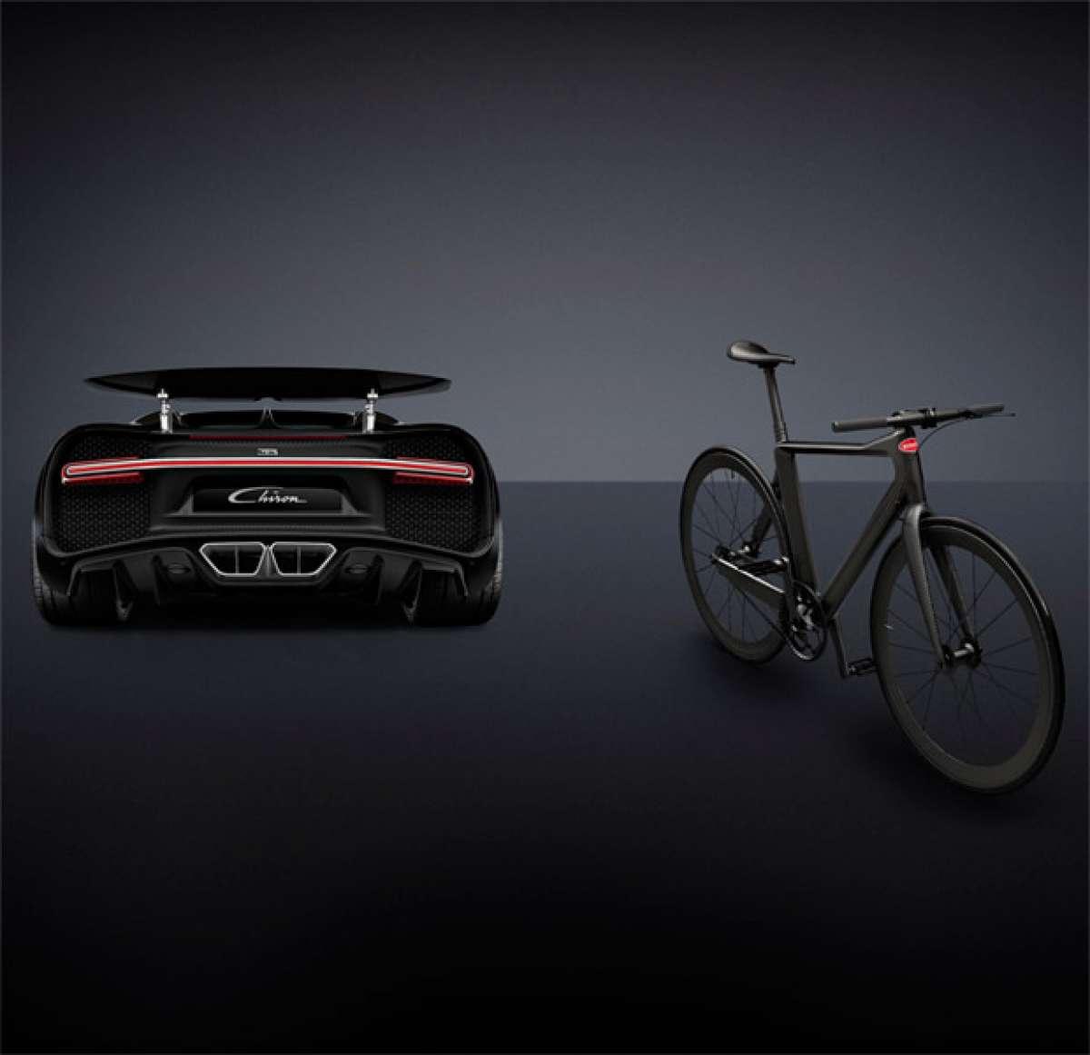 39.000 dólares para la última creación de Bugatti, y sin motor: una bicicleta urbana de menos de 5 kilos