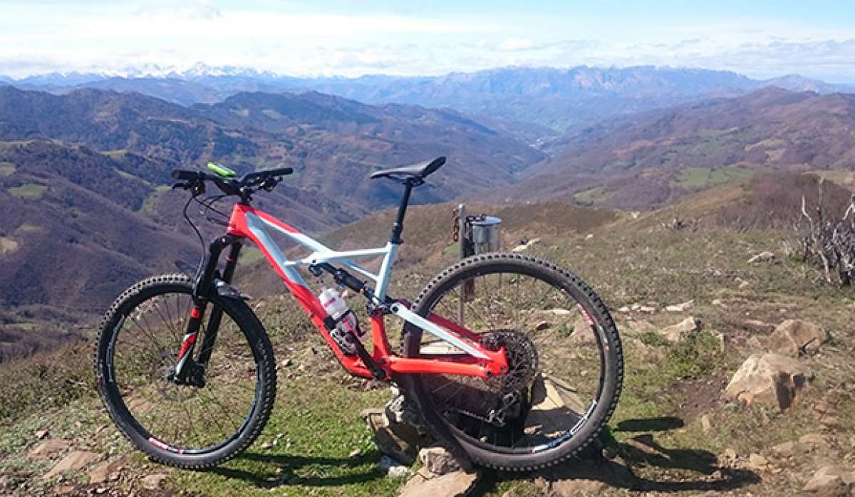 La foto del día en TodoMountainBike: 'Pico Tres Concejos'